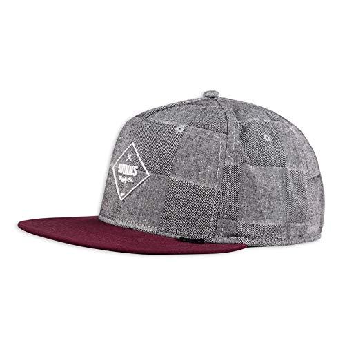 Djinns - Checkfish (Black) - Snapback Cap Baseballcap Hat Kappe Mütze Caps