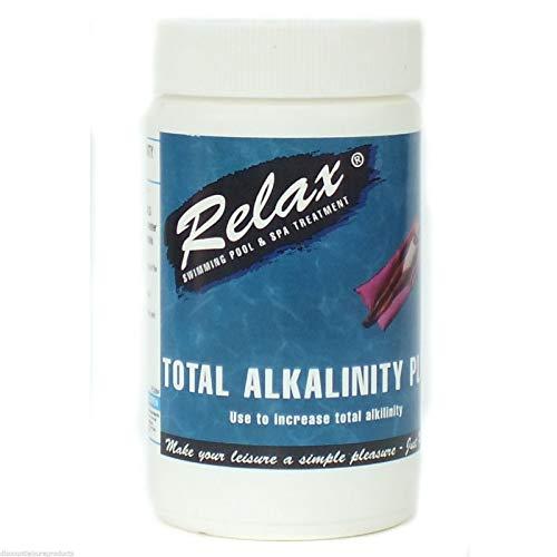 CASCADE POOLS Relaxation Plus 1 kg d'alcalinité totale – Piscine / spa chimique