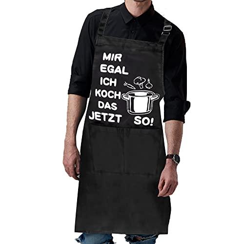 Rebundex Grillschürze für Männer Lustig Kochschürze Männer Lustig Männer Geschenke Lustig Geschenk Grillzubehör Männer Geschenk Küchenschürze Männer Schürze Herren Grill Schürze Mann