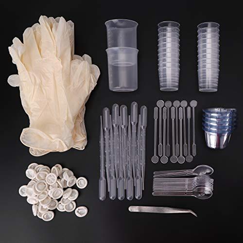 MIKI-Z Molde de epoxi hecho a mano Materiales Paquete DIY Artesanías Colgante de Joyería Molde Kit de Fabricación de Herramientas