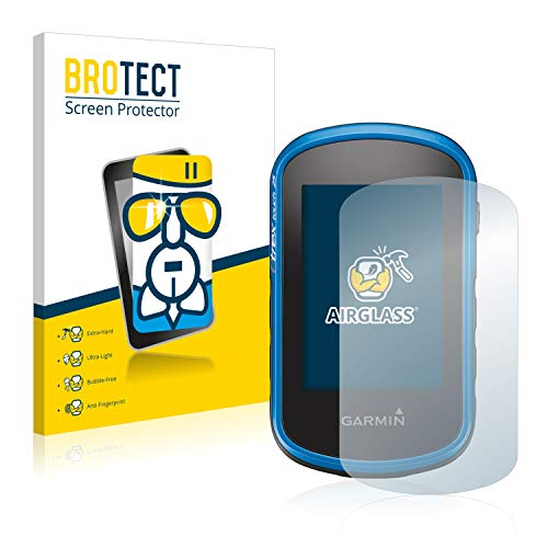 brotect Pellicola Protettiva Vetro Compatibile con Garmin eTrex Touch 35 Schermo Protezione, Estrema Durezza 9H, Anti-Impronte, AirGlass