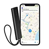 Invoxia Cellular GPS Tracker - Vehicle, Car, Motorcycle, Bike, Senior, Kid, Belongings - Up to 4 Month Battery Life - Free 2 Year Subscription - Built-in SIM - Real-time Anti-Theft Alerts - 4G LTE-M