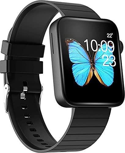 Smart Watch Call Bluetooth Call Fitness Tracker Presión arterial Pedómetro Pedómetro SmartWatches Monitor de ritmo cardíaco Información de información Música Player 1.54 '' Reloj digital de pantalla t
