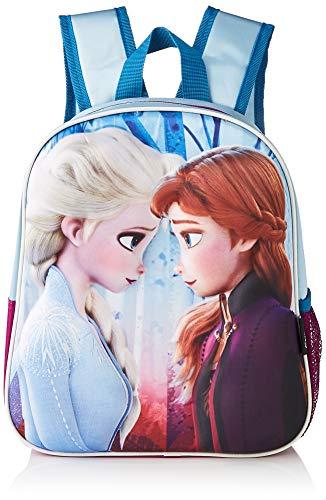 Cerdá  Mochila Infantil 3D Frozen de Color Azul Licencia Oficial de Dinsey Studios Unisex