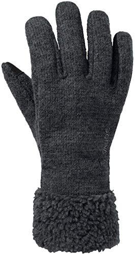 VAUDE Damen Women's Tinshan Gloves IV Handschuhe, Phantom Black, 8