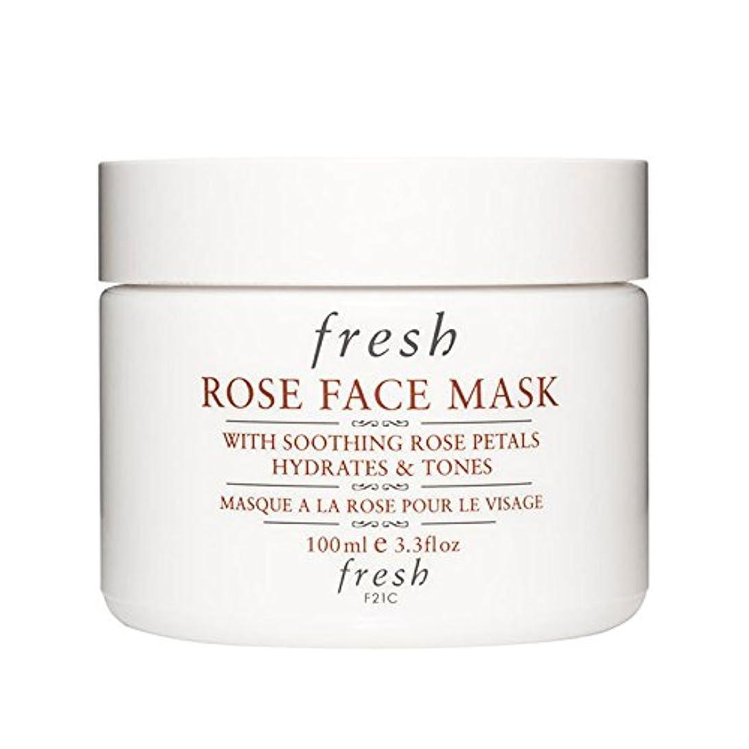高音エクステント分析的な【並行輸入品】Fresh ROSE FACE MASK (フレッシュ ローズフェイスマスク) 3.4 oz (100g) by Fresh for Women
