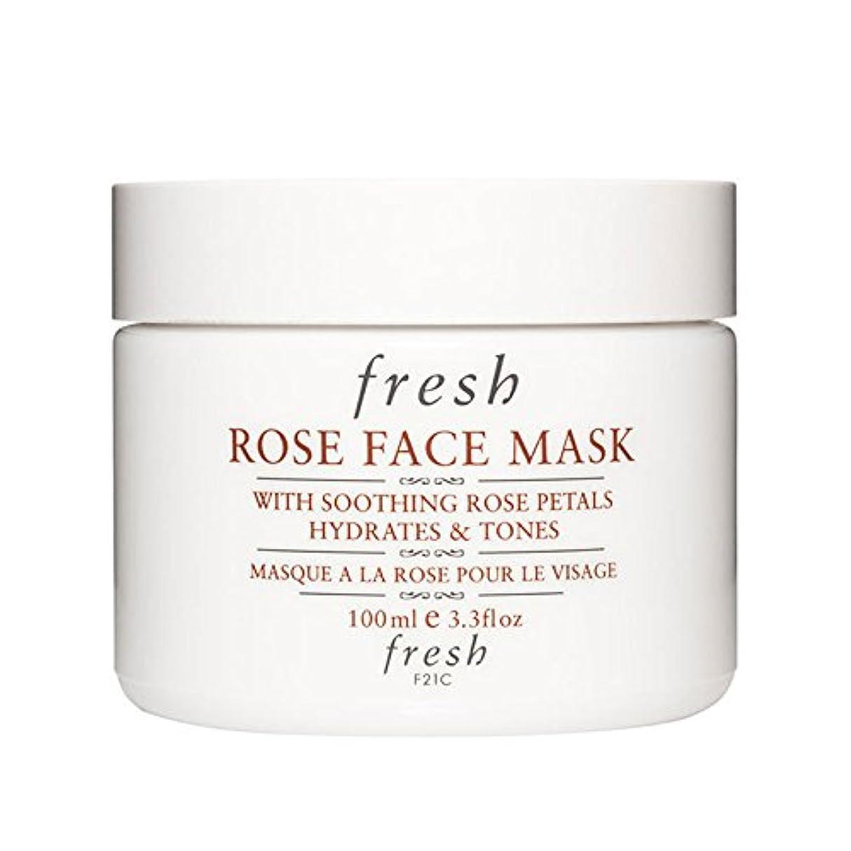 テセウス申し立て発明する【並行輸入品】Fresh ROSE FACE MASK (フレッシュ ローズフェイスマスク) 3.4 oz (100g) by Fresh for Women
