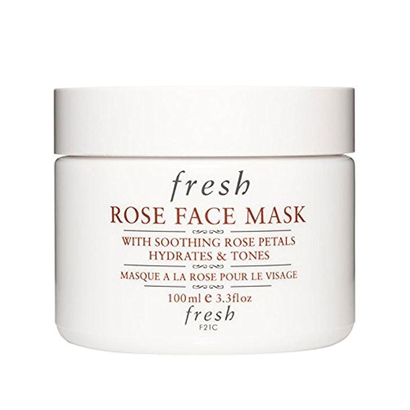 暴行免疫するテープ【並行輸入品】Fresh ROSE FACE MASK (フレッシュ ローズフェイスマスク) 3.4 oz (100g) by Fresh for Women