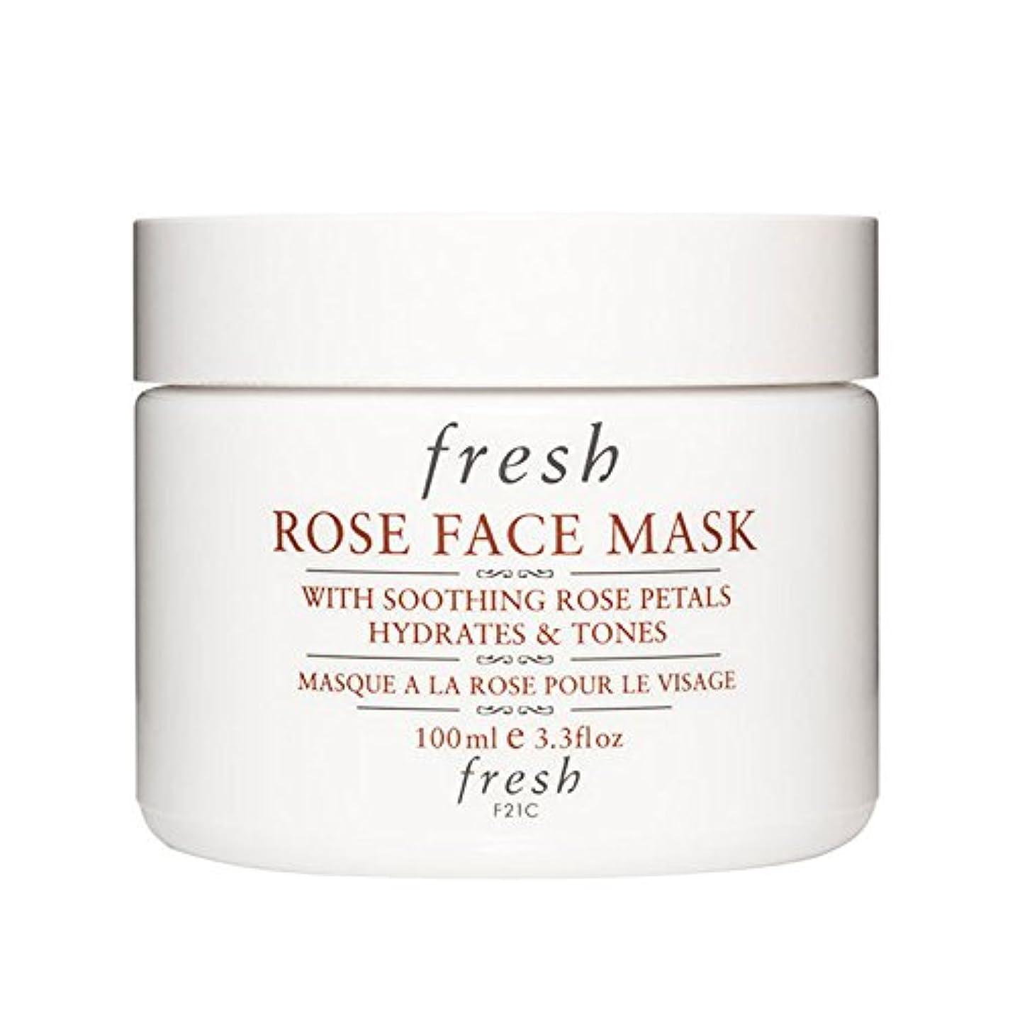 減少気がついて安心させる【並行輸入品】Fresh ROSE FACE MASK (フレッシュ ローズフェイスマスク) 3.4 oz (100g) by Fresh for Women