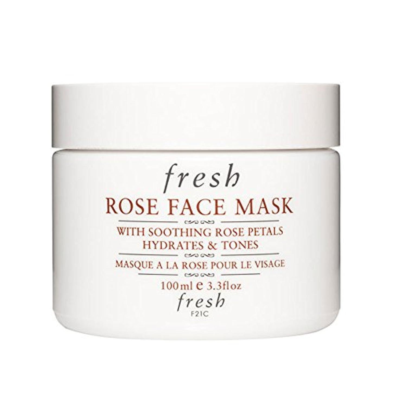 反動起きて技術者【並行輸入品】Fresh ROSE FACE MASK (フレッシュ ローズフェイスマスク) 3.4 oz (100g) by Fresh for Women