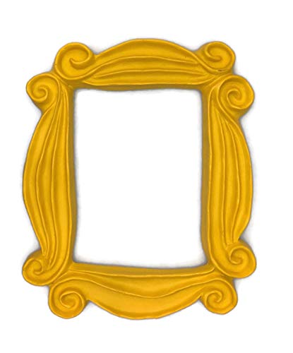 A peephole frame like Monica's. If either you, a member of your family or any of your friends is a fan of one of the most successful sitcoms of all time, this resin frame is ideal