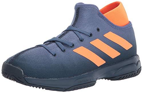 Product Image 1: adidas Phenom Tennis Shoe, Crew Navy/Screaming Orange/Crew Blue, 5 US Unisex Big Kid