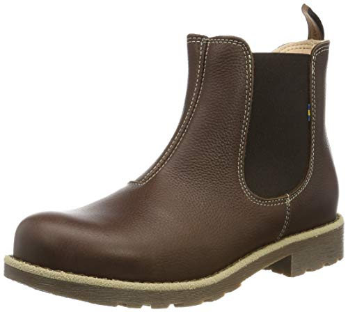 Kavat Unisex-Kinder Husum JR EP Chelsea Boots, Braun (Dark Brown 919), 36 EU