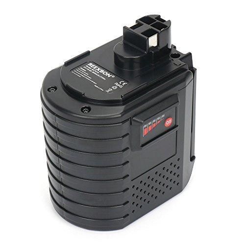 REEXBON 24V 3.0Ah Ni-MH Batería de Repuesto con Indicador LED para Bosch GBH 24V, GBH 24VFR, GBH 24VRE, WURTH 24V, BAT 019, 11225VSR, 2607335082, 2607335216, 2607335190, 2607335163, 2607335215