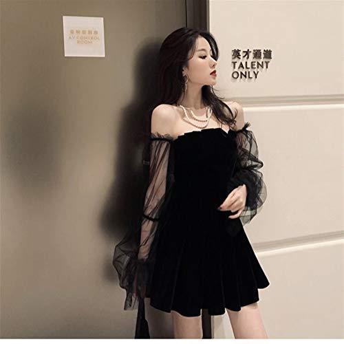 Vestido de falda S-Chihir Lolita Vestido Streetwear Shirts Ropa Vestido Vintage Vintage Vestidos góticos estética Transpanent Correa Plisada Mujer Punk Chic Punk New Goth Dark...