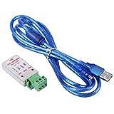 Adaptador convertidor de bus USB a CAN Adaptador convertidor inteligente con cable USB compatible con XP/WIN7/WIN8