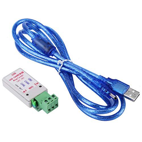 mumisuto Adaptador convertidor convertidor de Bus USB a Can con Soporte de Cable USB XP/WIN7/WIN8