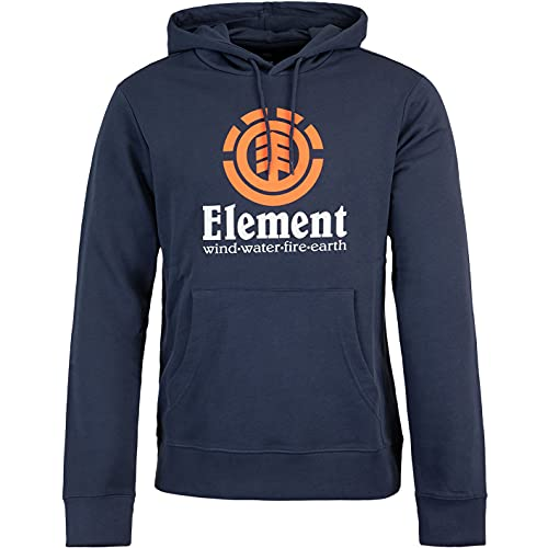 Element Vertical Hoody - Felpa da uomo blu navy L