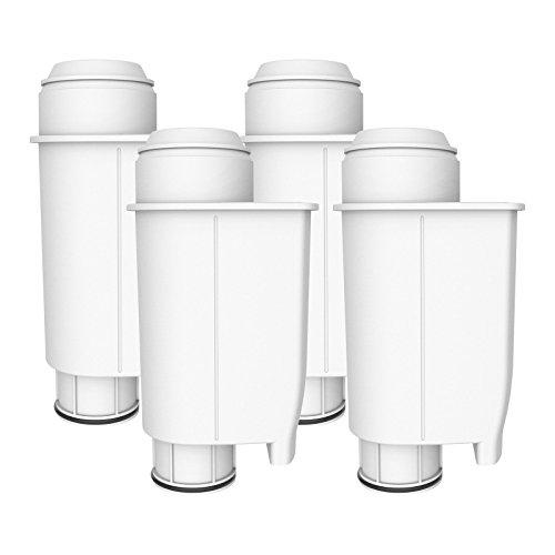 AquaCrest AQK-02 Remplacement de Filtre d'Eau Compatible Machine à Café pour Brita Intenza+ comprenant divers modèles de Philips Saeco, Bosch, Gaggia (4)