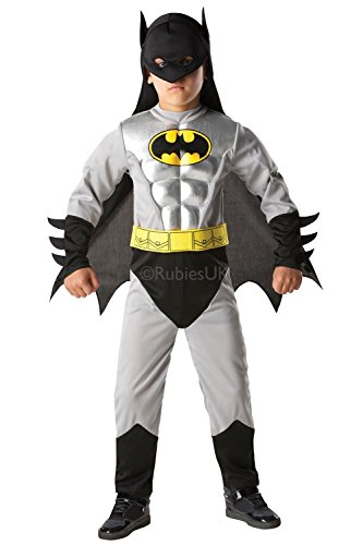 Rubie's 3881823 - Batman Metallic Deluxe Child, S