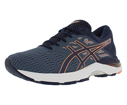 ASICS Women's Gel-Flux 5, Blue/Canteloupe, 7 B(M) US