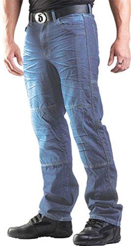 Drayko Drift Riding Jeans Men's Denim Street Bike Motorcycle Pants - Indigo