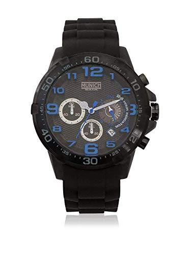 Munich Reloj Analógico para Unisex Adultos de Cuarzo con Correa en Caucho MU+137.1C