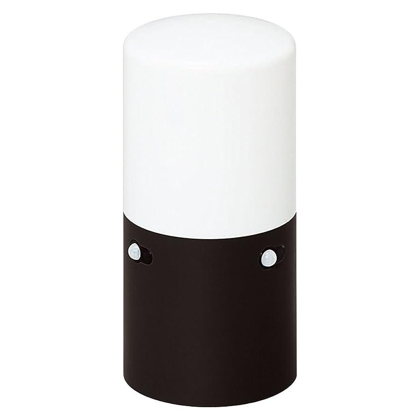 象新鮮なマイクロアイリスオーヤマ センサーライト スリム ガーデン LSL-MS1 ブラック