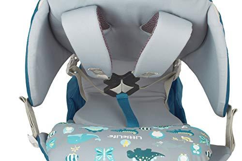 LittleLife Unisex-Adult Ranger S2 Child Carrier, Blue Kindertrage, blau, One Size