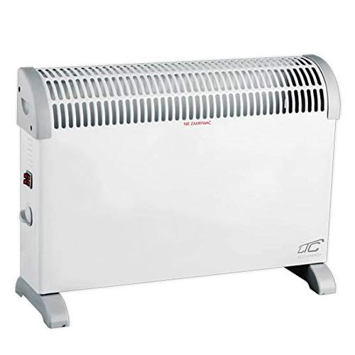 LTC LXUG05 - Termoconvettore elettrico, 3 livelli di riscaldamento, 800 W, 1200 W, 2000 W
