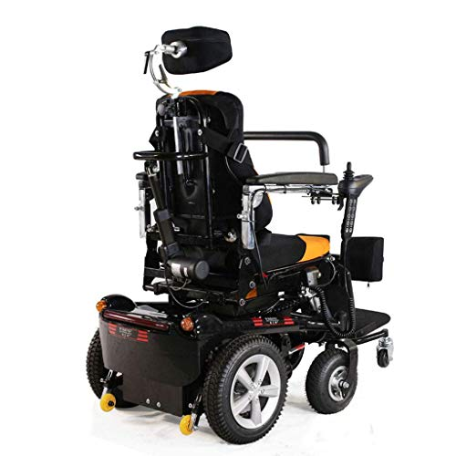 Wheelchair Electric Standing Wheelchair Elderly Disabled, Standing Up, Lying Down, Electric Mobility Wheelchair iyg