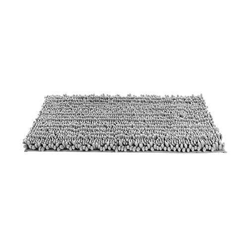 litulituhallo Tapis de bain absorbant et doux avec envers antidérapant en machine 80 x 50 cm