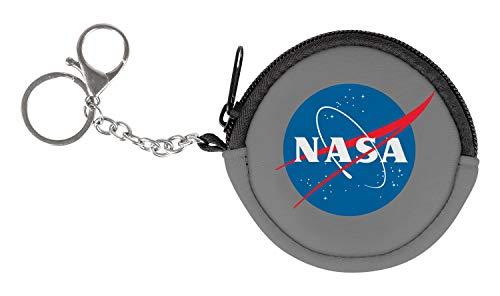 Münzbörse Kinder - Geldbörse für Jungen und Mädchen - Geldbeutel, Mini Portemonnaie, Kleingeld Münzbeutel (NASA)