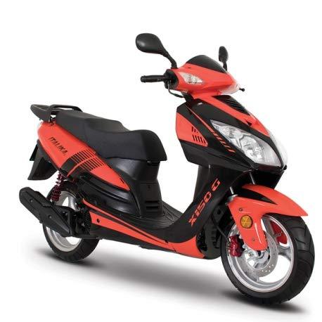 ITALIKA Motocicleta de Motoneta – Modelo X150