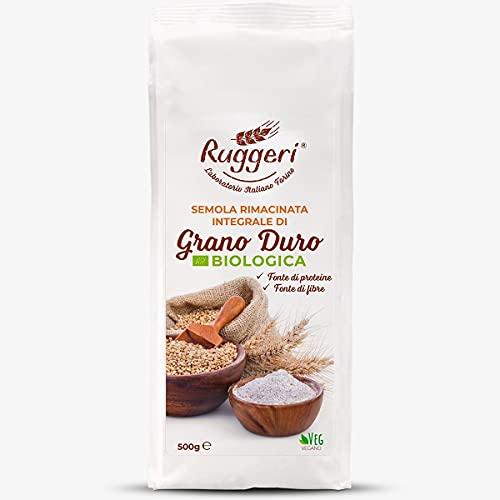 Ruggeri 10 granos de trigo duro italianos para pan, pizza,
