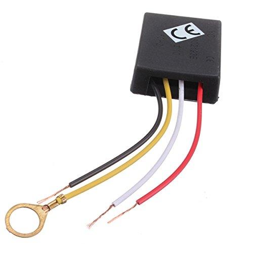 Ils - 3 Stück 220V AC 3-Wege-Touch Control Sensor-Schalter Dimmer Lampen-Schreibtisch-Licht-Teil