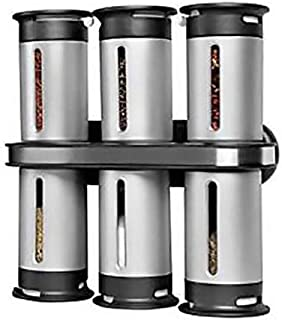 Sponsored Ad – Zero Gravity 6 Canister Countertop Magnetic Spice Stand