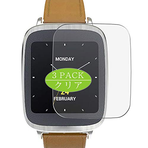VacFun 3 Piezas Claro Protector de Pantalla, compatible con Asus Zenwatch WI500Q,...