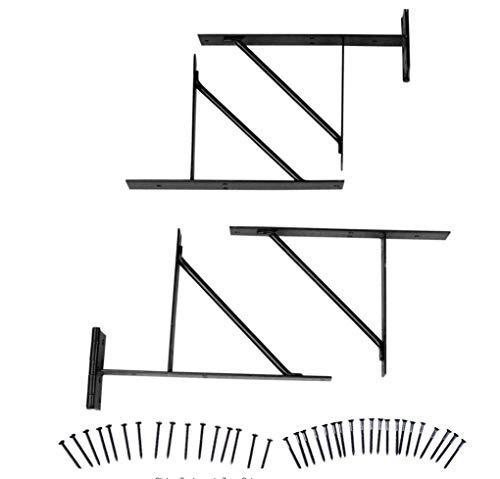 Homax EasyGate 15-7/10-in Steel-Painted Gate Hardware Kit