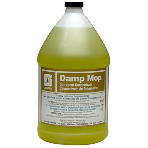 Spartan Damp Mop Floor Cleaner, Gallons, 4 Per Case