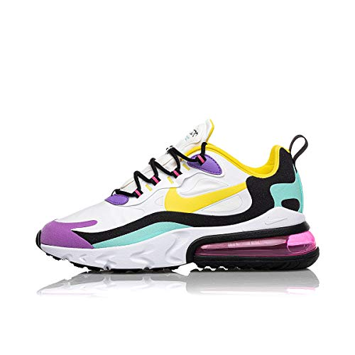 Nike Air Max 270 React White Dynamic Yellow Black 44.5