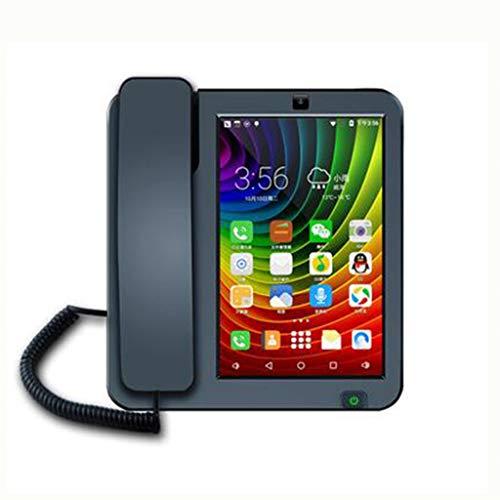 MSNDIAN Android Fijo Fijo de Pantalla táctil Video teléfono grabación Negocio Fijo Artículos para el hogar teléfono
