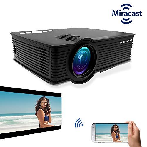 "EGATE i9 MIRACAST LED HD PROJECTOR - HD 1920 X 1080 – HDMI – USB - VGA – 120"" DISPLAY"