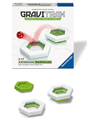 Ravensburger - GraviTrax - Bloc daction Trampoline - 27621 - Jeu de construction STEM - Extension pour circuits de billes créatifs - Enfants de 8 ans et plus - Version française
