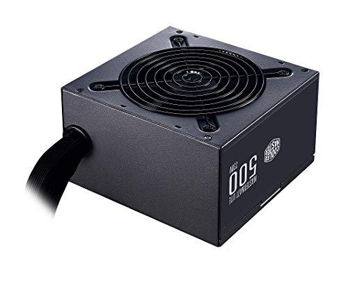 Cooler Master MasterWatt MWE v2 500 Watt Alimentatore 80+ 120mm Ventilatore
