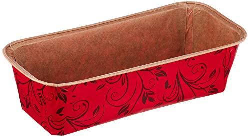 Städter Papier-Backform, rot, 21,5 x 9 cm/H 6 cm