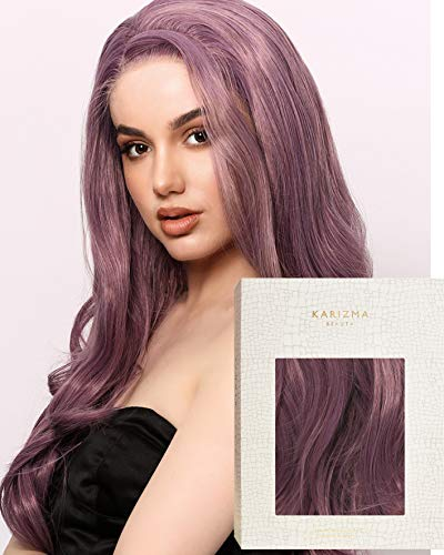 Infatuation Wig ✮ Mauve Purple Wavy Lace Front Wig by Karizma Synthetic Hair Ursula