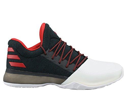 adidas Harden Vol. 1 J - Zapatillas Deportivas para Niño, Negro - (Negbas/Escarl/FTWBLA) 36 1/2