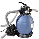 Swimline 71225 12 in Sand Filter Combo-0.33 Hp, Filtration, Multi