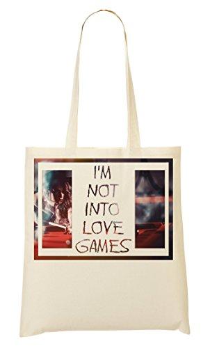 C+P Im Not Into Games Hot Chick Tragetasche Einkaufstasche